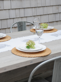 Silver Wave | Table Runner