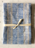 Blue & Natural Striped | Tea Towel