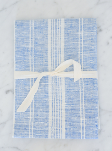 Blue & White Striped | Tea/Hand Towel
