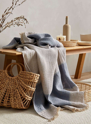 Throw blanket  100% linen