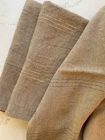 Linen bath towel- Pure, Natural untreated linen