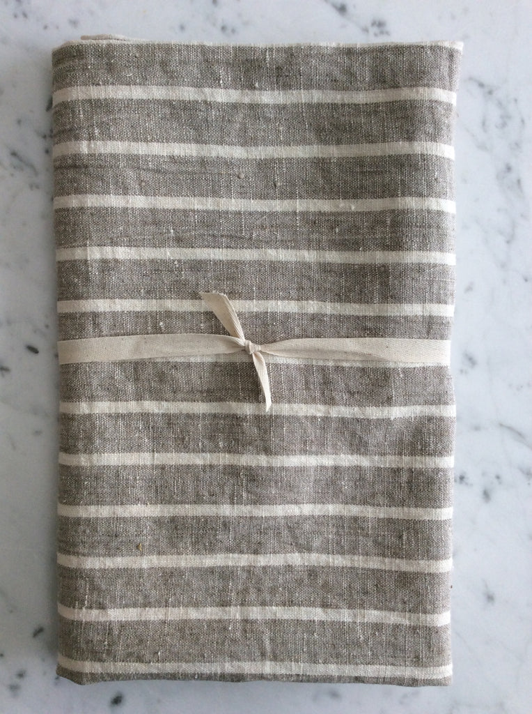 Thin striped, stone washed | bath sheet SKU219