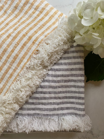Linen Throw blanket or tablecloth