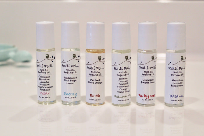 Roll Polli Essential Oil Roll On Perfume