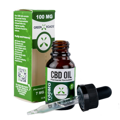 GREEN ROADS CBD Oil – 100 mg