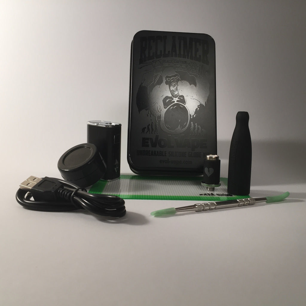 Blackout Edition Reclaimer Kit By Evol Vape Vape Ape Usa