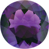 February- Synthetic Amethyst Birthstone