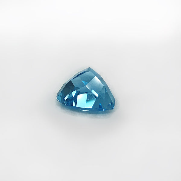 Gemstone Genuine Swiss Blue Topaz Trillion loose