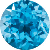 December- Synthetic Blue Topaz