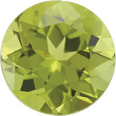 August- Synthetic Peridot Gemstone