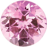 October- Synthetic Pink Tourmaline Birthstone