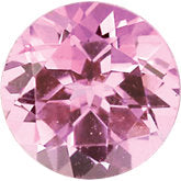 October- Genuine Pink Tourmaline Gemstone