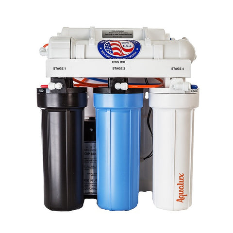 Aqualux 5-Stage Reverse Osmosis System with Booster Pump