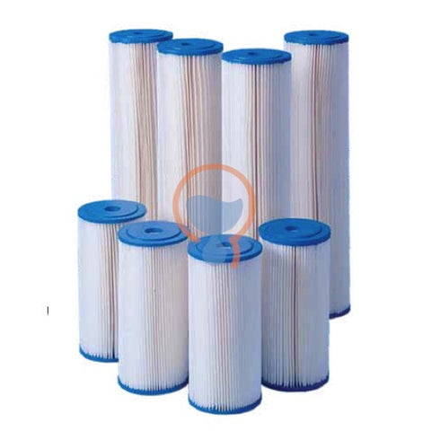 Harmsco PP-BB-20-1 Calypso Blue Poly-pleat Filter Cartridge