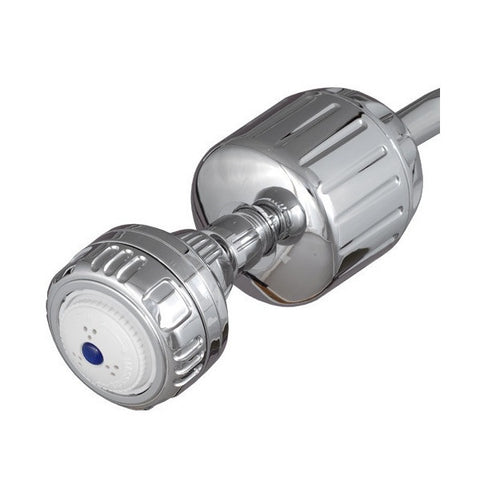 sprite plastic shower filter with chrome and shower head ho2cmm