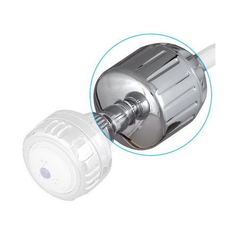 Sprite Plastic Shower Filter with Chrome Finish (HO2-CM)