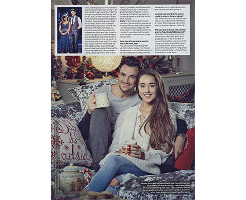 Peter Andre In Our Oak Crew Neck - As Seen In OK Magazine MrQuintessential