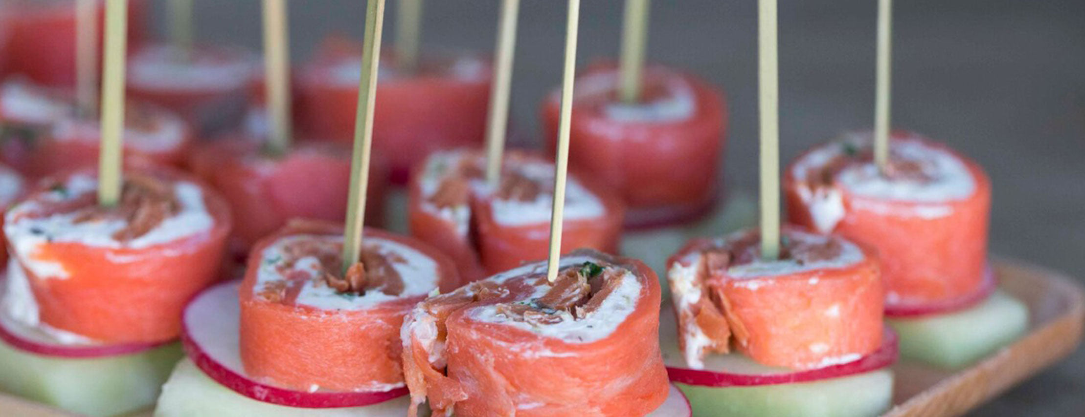 Recipe: Smoked Salmon Medallions