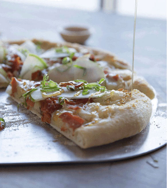 Recipe: Smoked Salmon Pizza