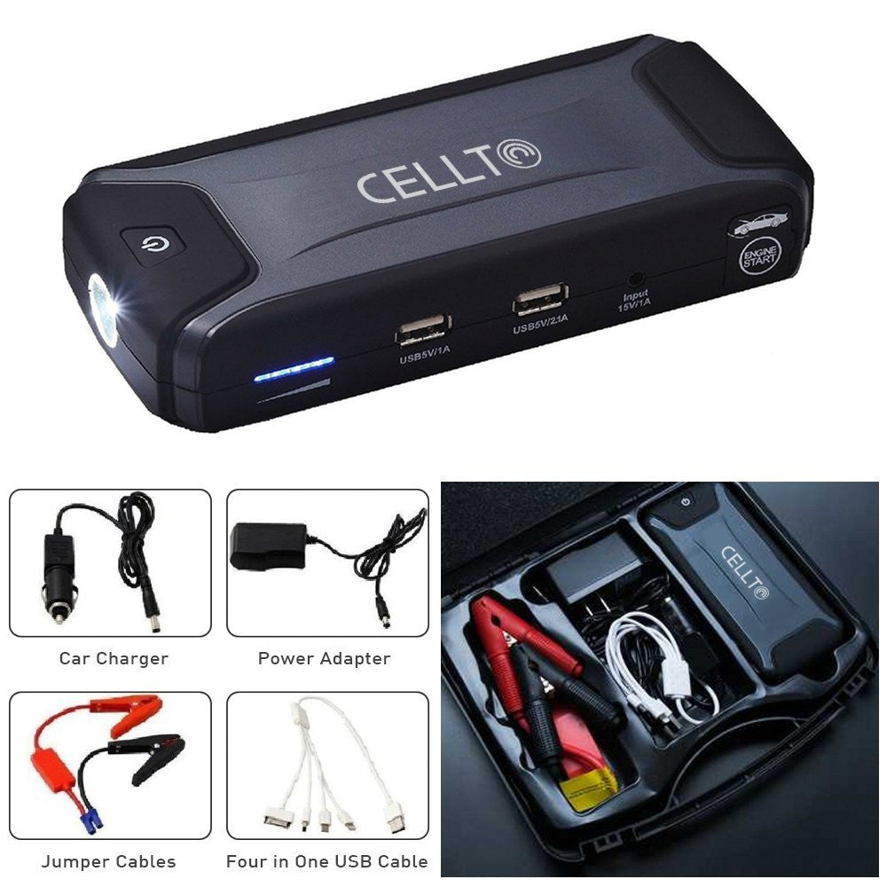 Ultra Compact Cellto Car Jump Starter And Heavy Duty Portable Oldi Powerbank 12000mah Smartphone Charger