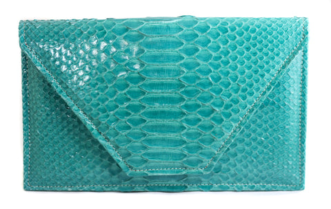 The Tisa - Glazed Python - Teal