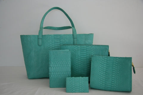 Morgan Sky Sea Green Collection