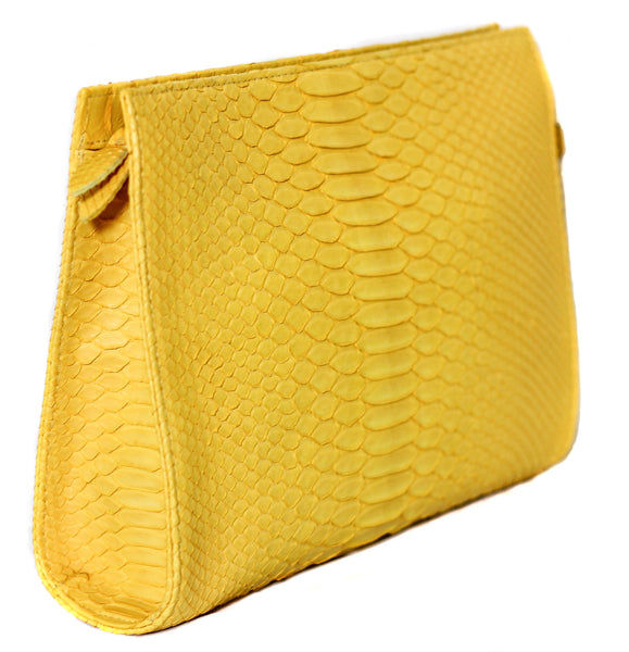 The Jano - Matte Python - Yellow