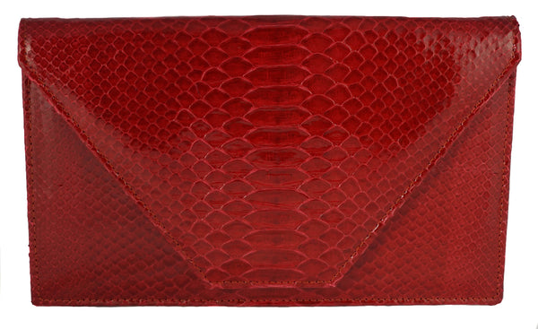 The Tisa - Glazed Python - Red