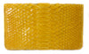 Sky Traveler Wallet - Glazed Python - Yellow