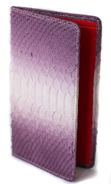 Sky Traveler Wallet - Matte Python - Purple/White