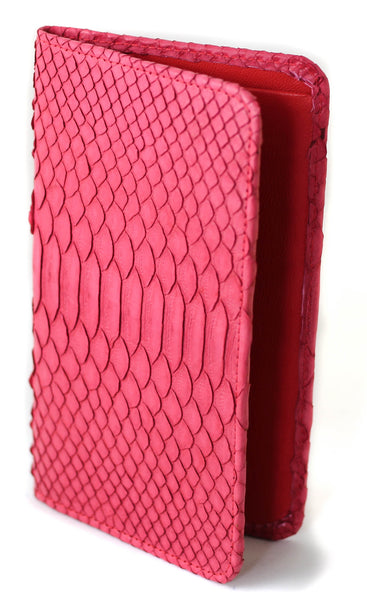 Sky Traveler Wallet - Matte Python - Red