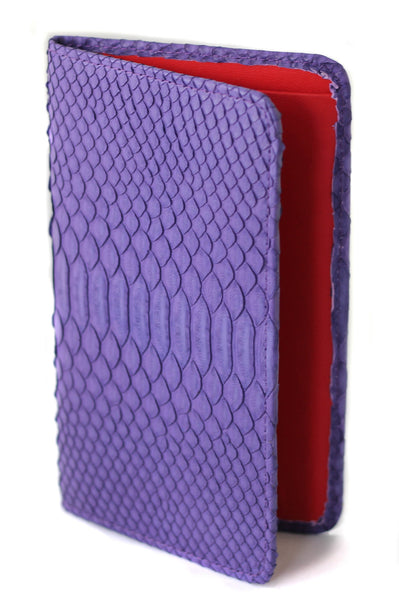 Sky Traveler Wallet - Matte Python - Purple