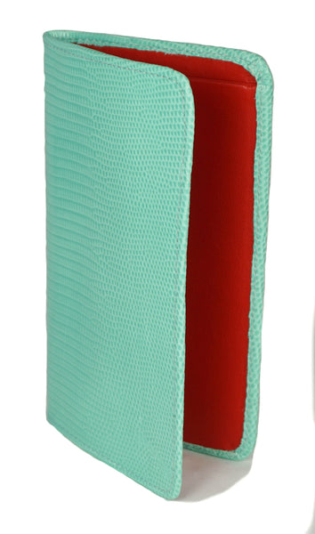 Sky Traveler Wallet - Lizard - Sea Green