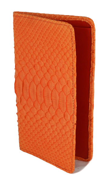 Sky Traveler Wallet - Matte Python - Orange