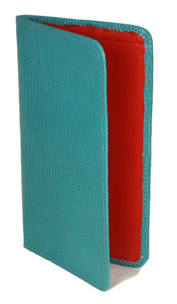 Sky Traveler Wallet - Lizard - Teal