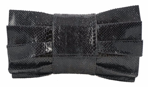 The Bow - Snakeskin - Black