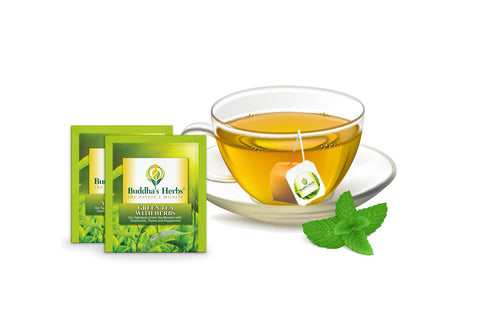 Green Tea with Herbs