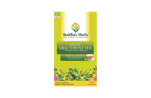 Premium Organic Milk Thistle Tea with Dandelion Root