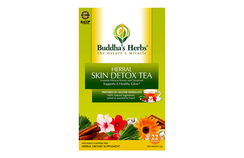 Buddha's Herbs Skin Detox Tea with Hibiscus and Cinnamon