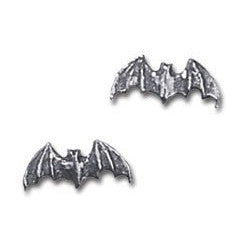 Bat Studs Alchemy Gothic Earrings (pair)