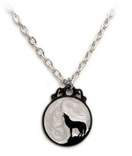 Wolf Moon Alchemy Gothic Necklace