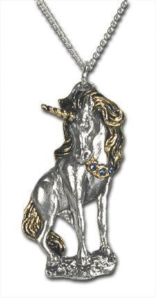 Starfire Unicorn Pendant Necklace