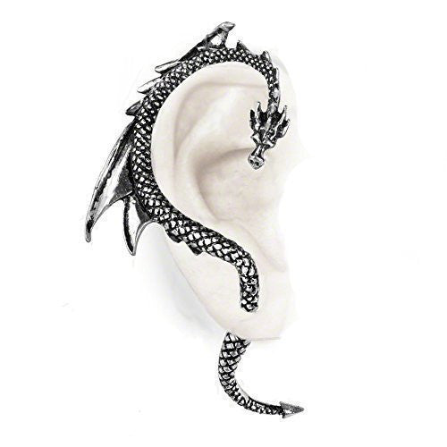 The Dragon's Lure Ear Wrap Earring by Alchemy Gothic