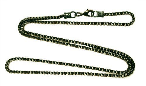 Gunmetal 2.5mm Box Chain