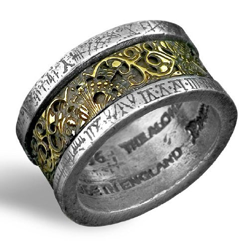 Dr. von Rosenstein's Induction Principle Alchemy Gothic Ring