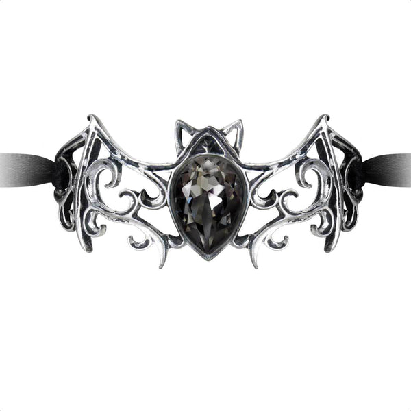 Viennese Nights Ribbon Bracelet by Alchemy Gothic