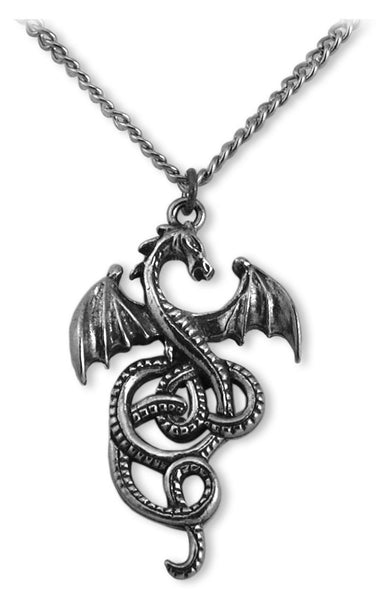 Nidhogg Viking Gothic Dragon Necklace with Chain