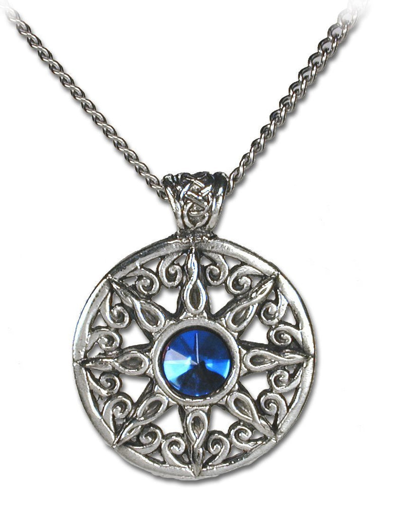 Ring of the Heavens Gothic Crystal Necklace