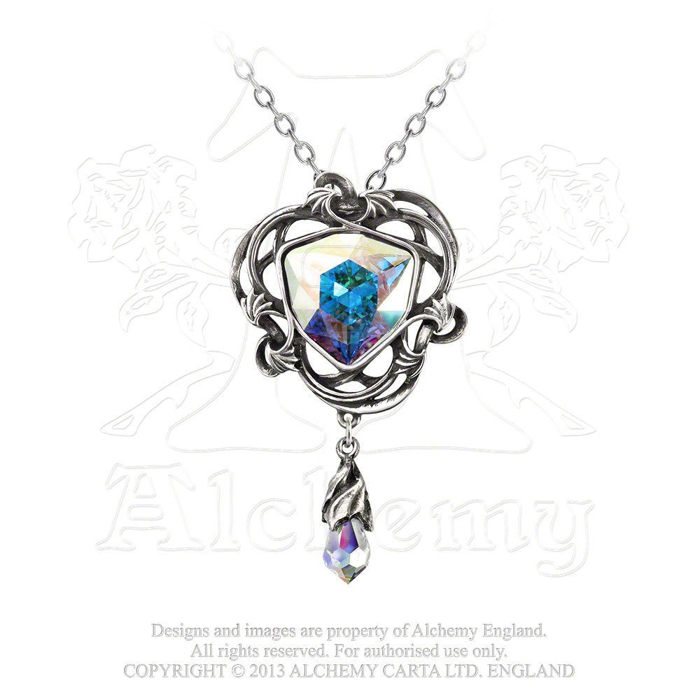 Empyrian Eye: Tears From Heaven Pendant - Alchemy of England