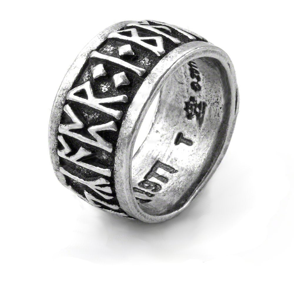 rune wedding gift hiphop supernatural jewelry men nibelung carbide women odin from party tungsten nordic dragon pattern mythology item in ring rings